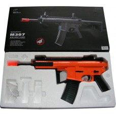 M307 Spring Powered Plastic Airsoft BB Gun Rifle with Folding Stock 278 FPS